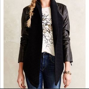 Anthropologie John + Jenn Vegan Leather Jacket